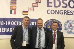 Naši delegáti s novým prezidentom EDSO -Josifom Stavrakakisom z Grécka