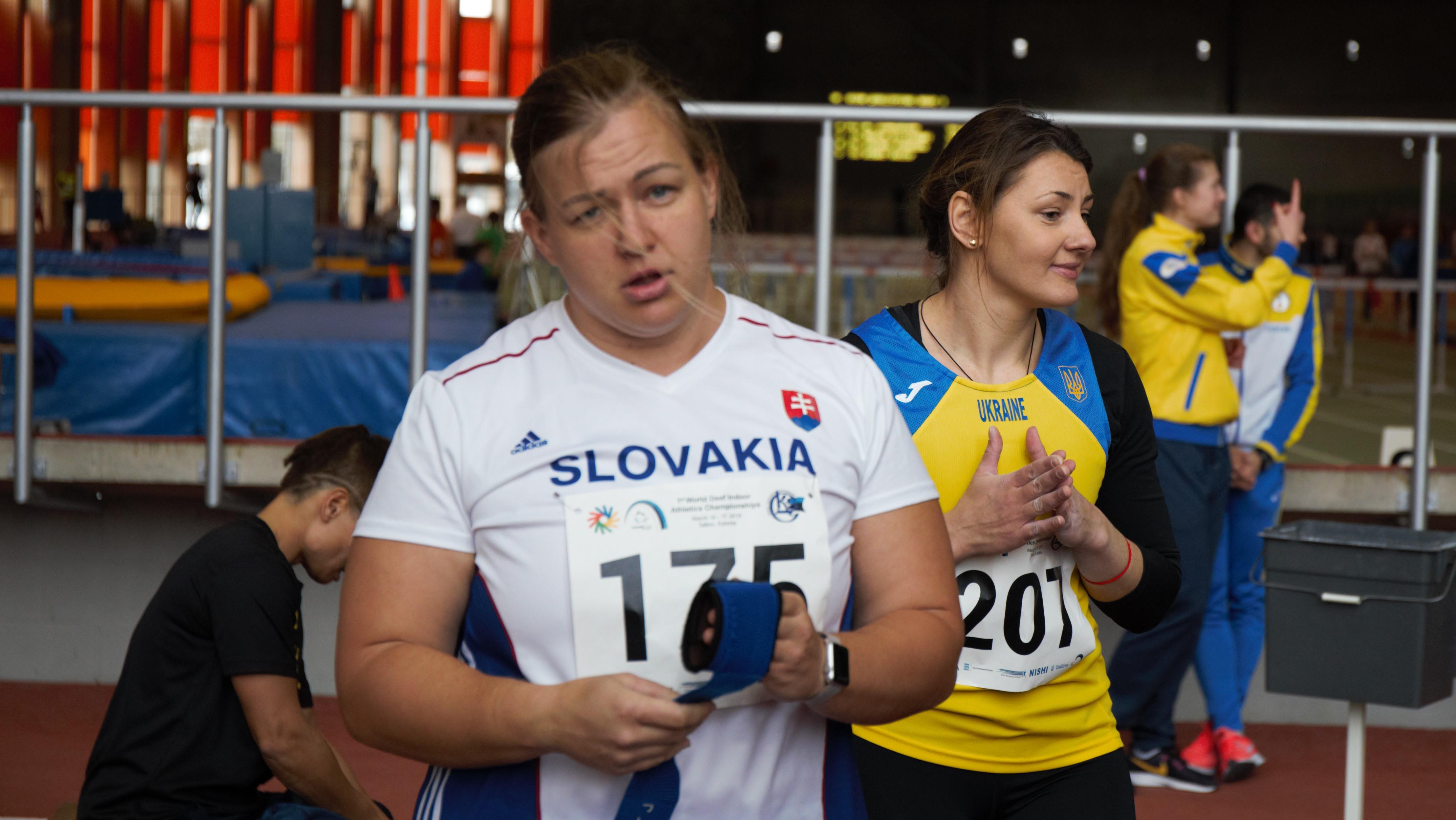 Ivana Krištofičová a Nataliia Ursulenko
