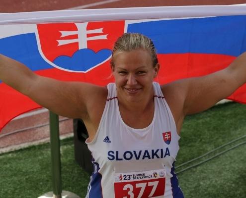 Ivana Krištofičová - dvojnásobná deaflympijská víťazka